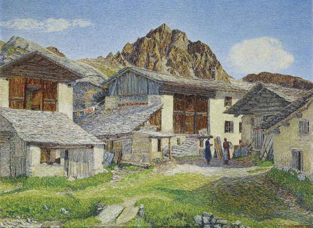 Blaunca mit Piz Lagrev, 1940