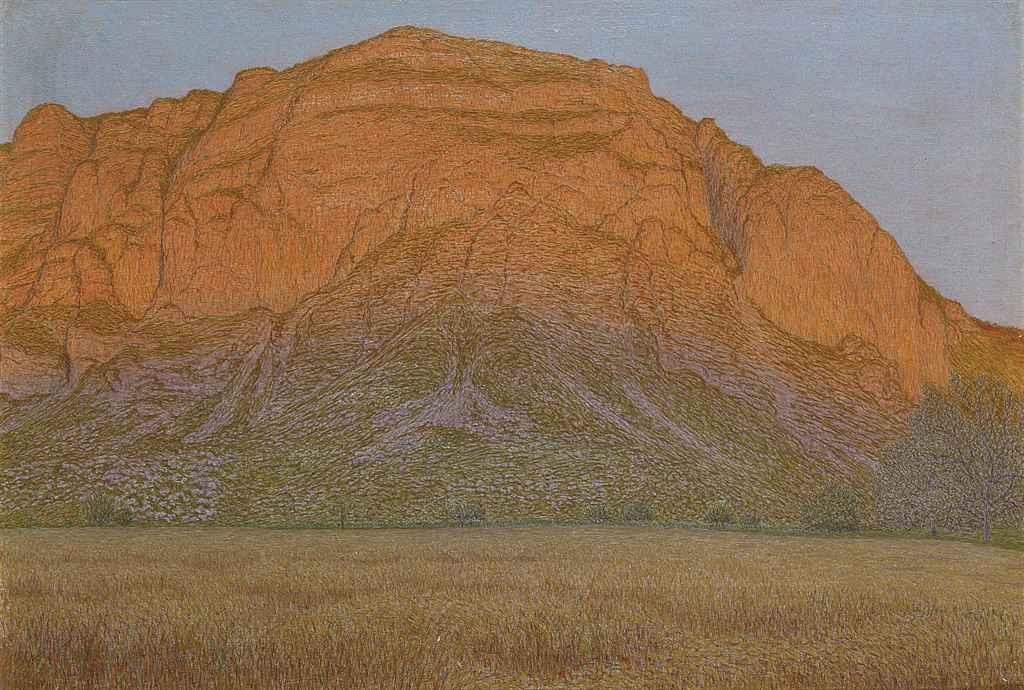 Coucher de soleil sur le Salève, 1898