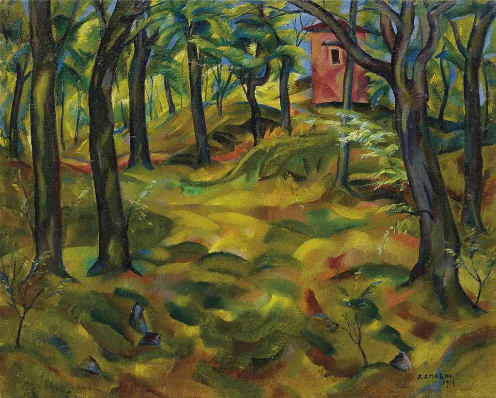 Rotes Haus, 1917
