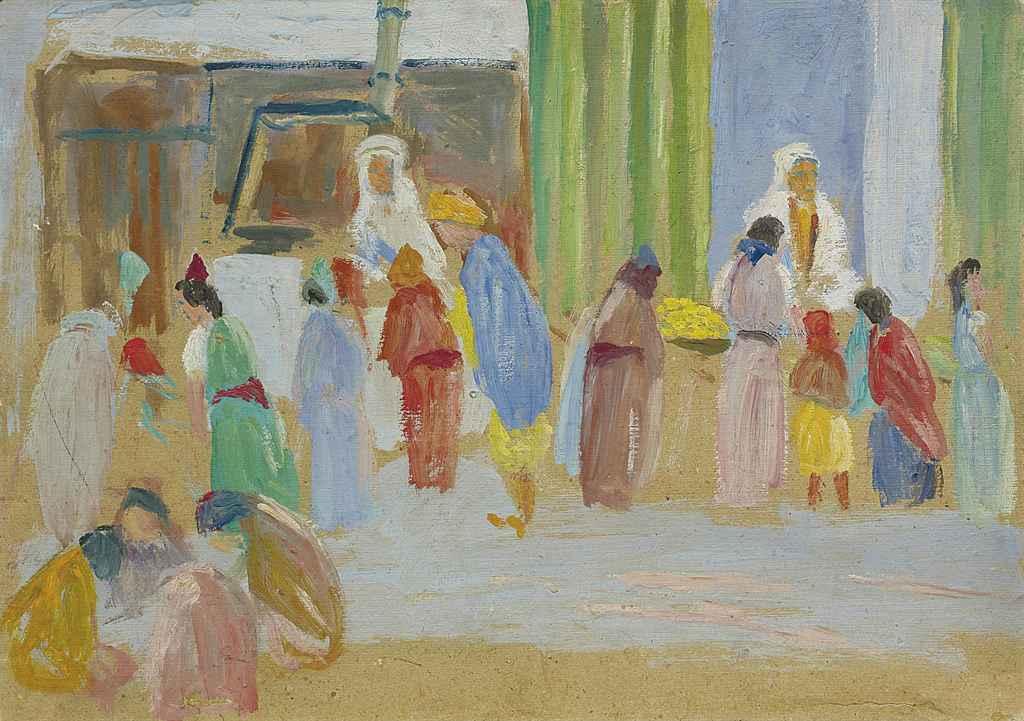 Algerischer Basar, 1918