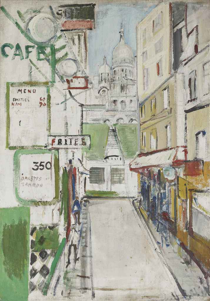 Rue de Steinkerque in Paris, 1957