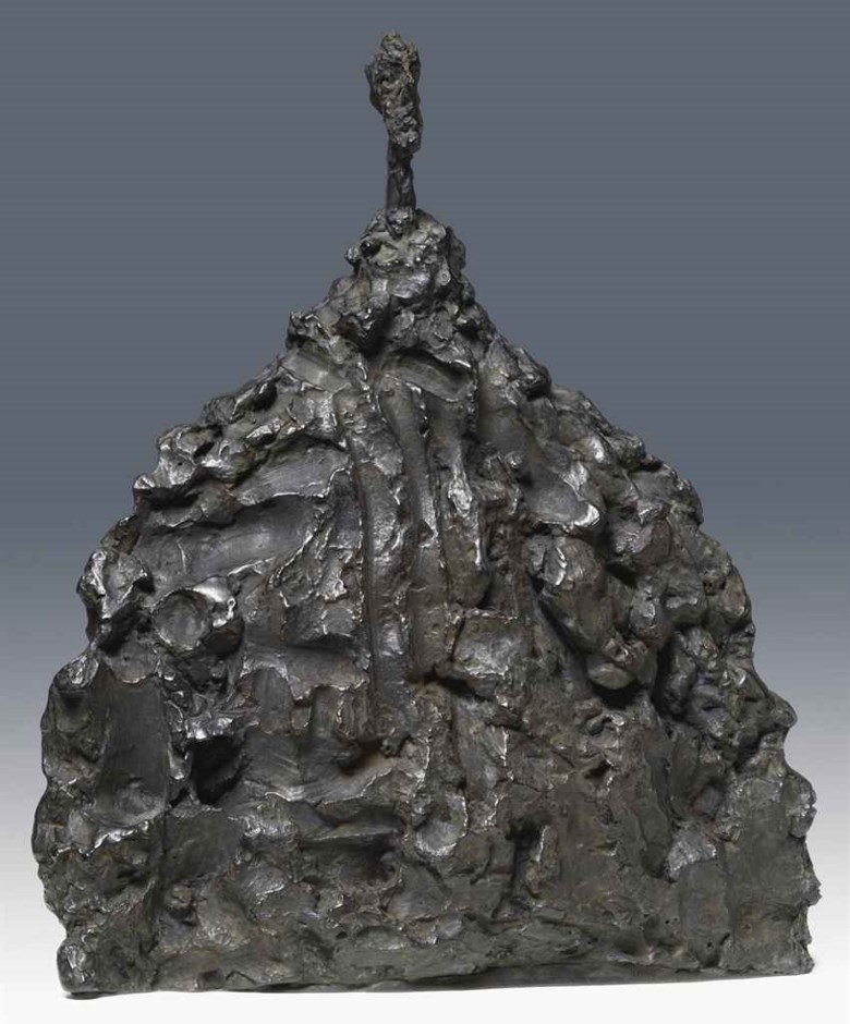 Alberto Giacometti (1901-1966), Buste dhomme, 1956. Sold for CHF 1,020,000 on 21 March 2011 at Christie's in Kunsthaus Zurich, Grosser Vortragssaal. © The Estate of Alberto Giacometti (Fondation Annette et Alberto Giacometti, Paris and ADAGP, Paris), licensed in the UK by ACS and DACS, London 2018