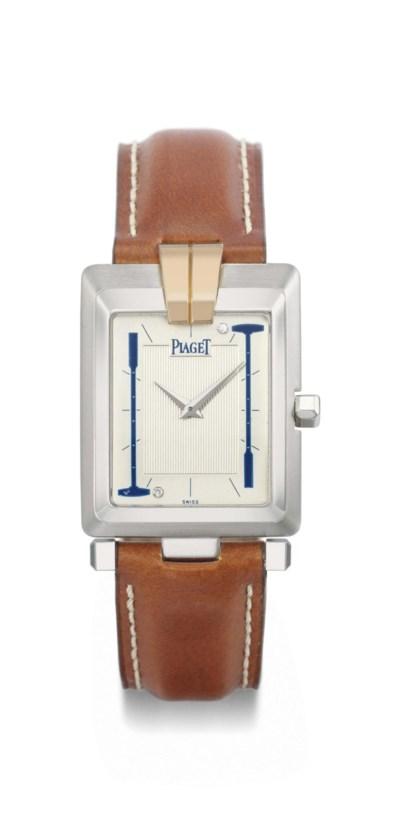 Piaget. A fine 18K two colour