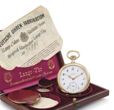 Deutsche Uhrenfabrikation A. L