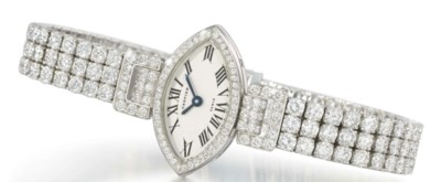 Cartier. A lady's elegant and