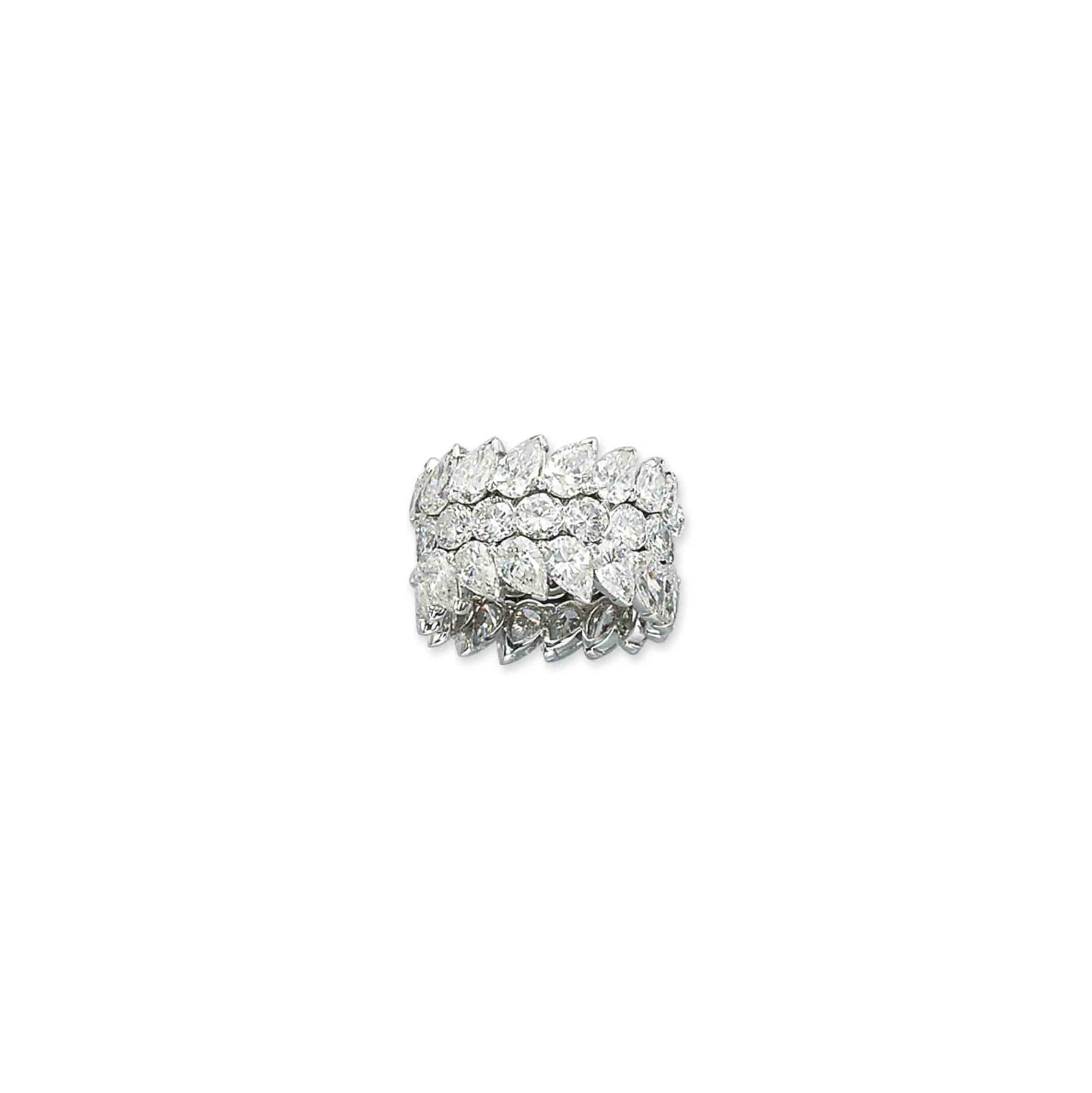 A DIAMOND ETERNITY RING, BY TABBAH
