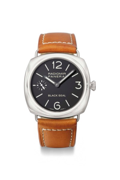 Panerai. A stainless steel lim