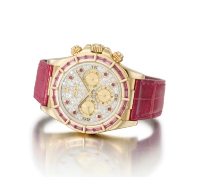 Rolex. An unusual and attracti
