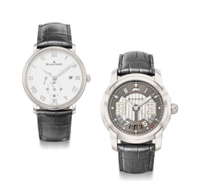 Blancpain, A lot of two stainl