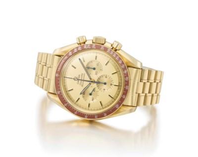 Omega. A fine 18K gold limited