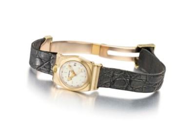 Cartier. A lady's rare and unu