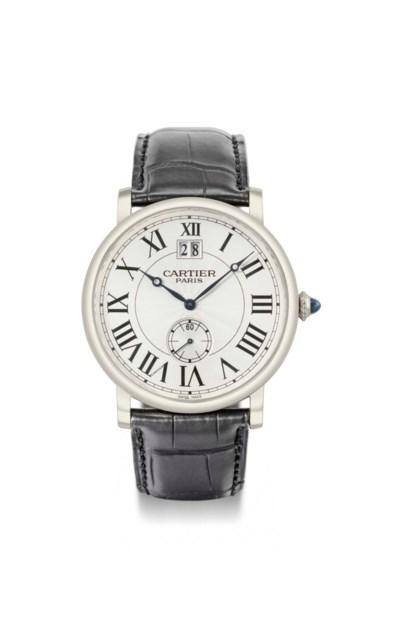 Cartier. A large 18K white gol