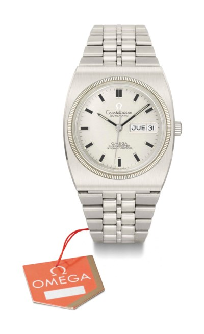 Omega. A stainless steel tonne