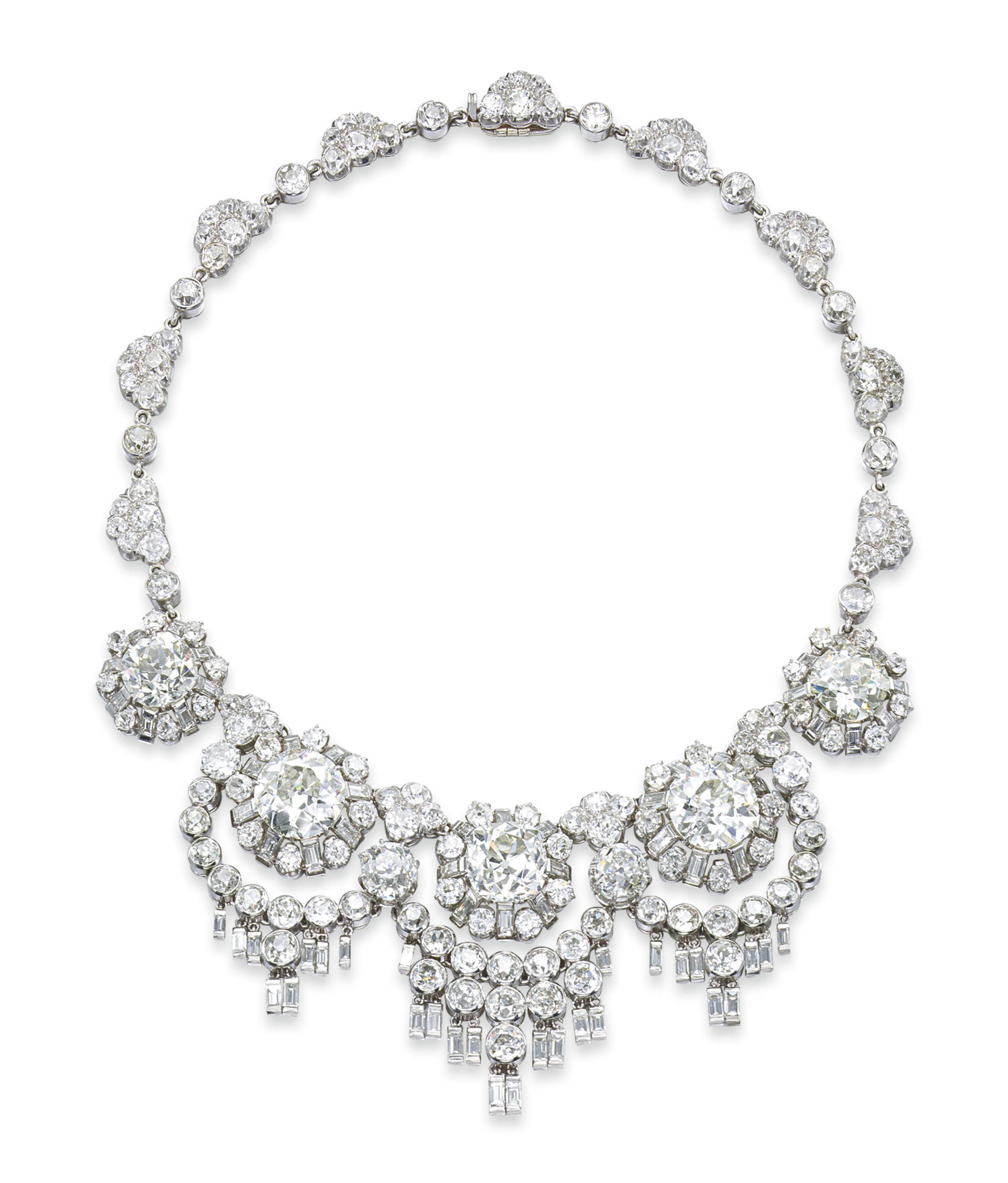 A UNIQUE DIAMOND NECKLACE, BY RENÉ BOIVIN