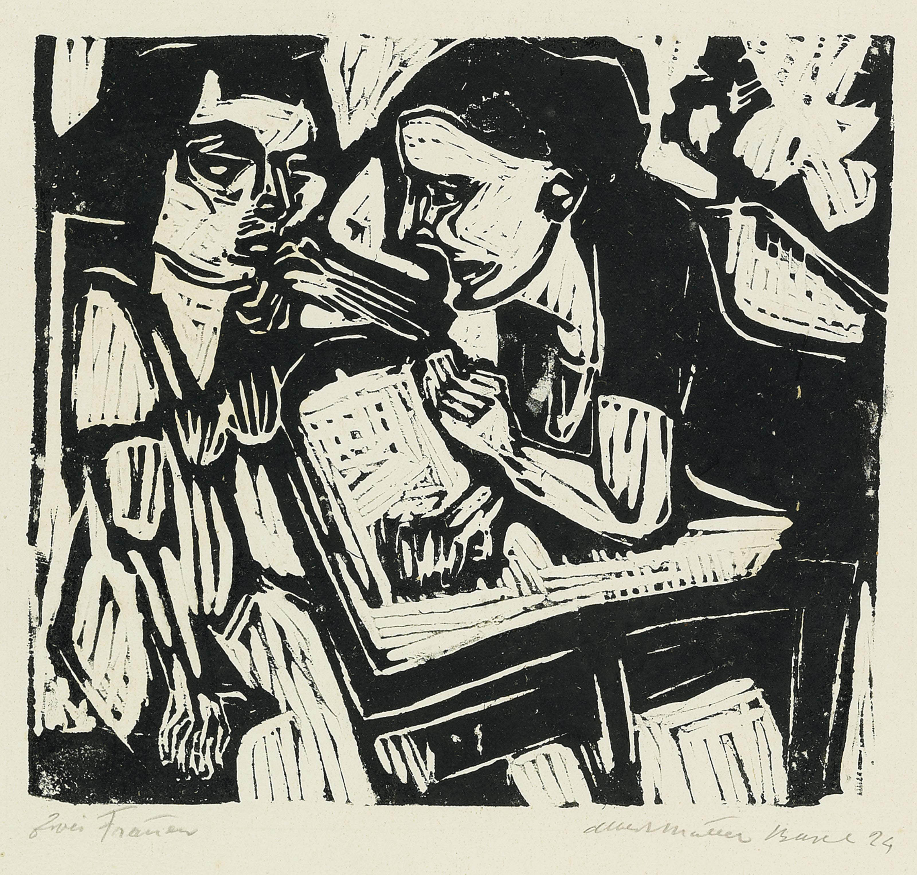 Anna und Susanna - Zwei Frauen, 1924