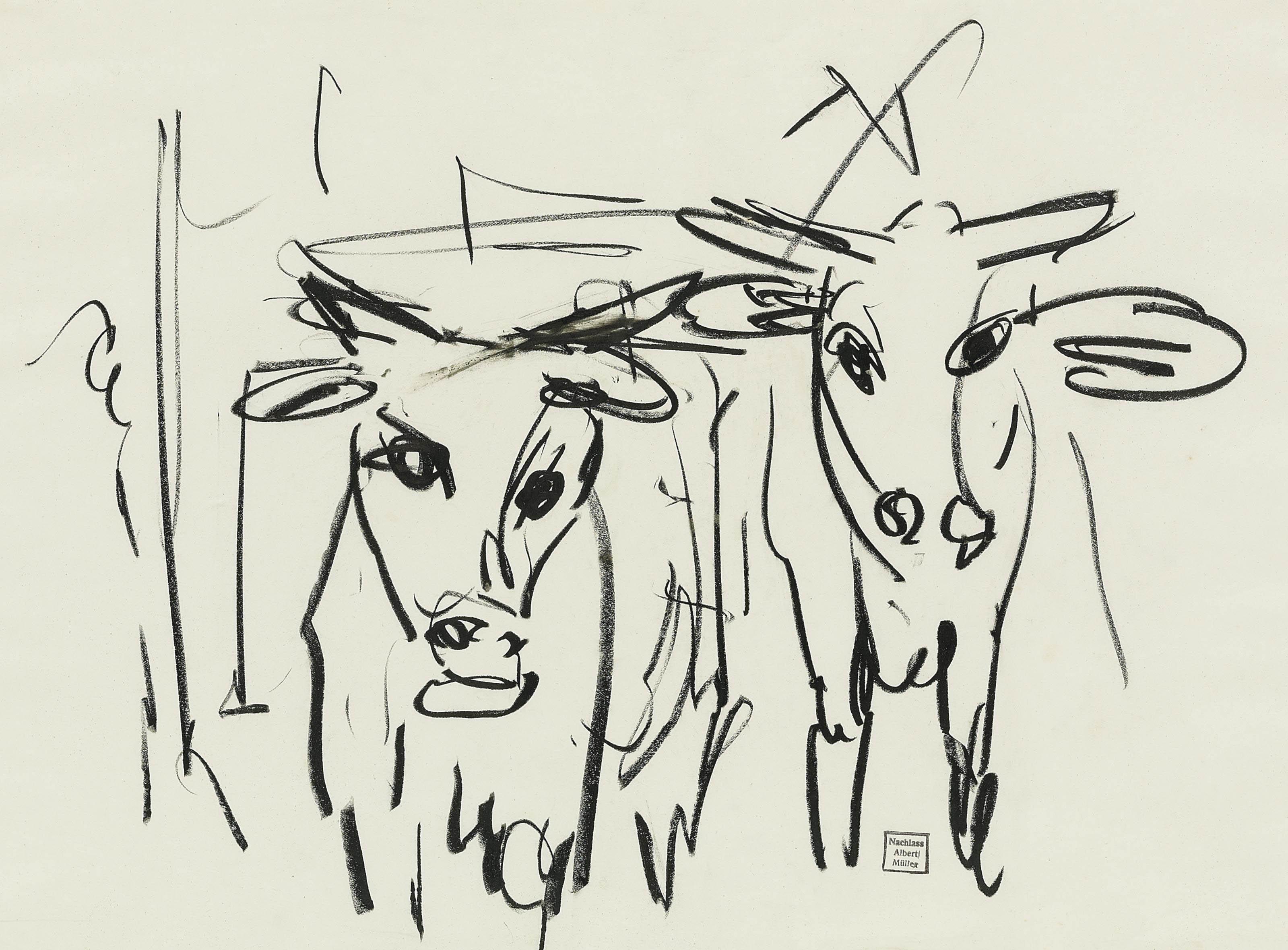 Zwei Kühe