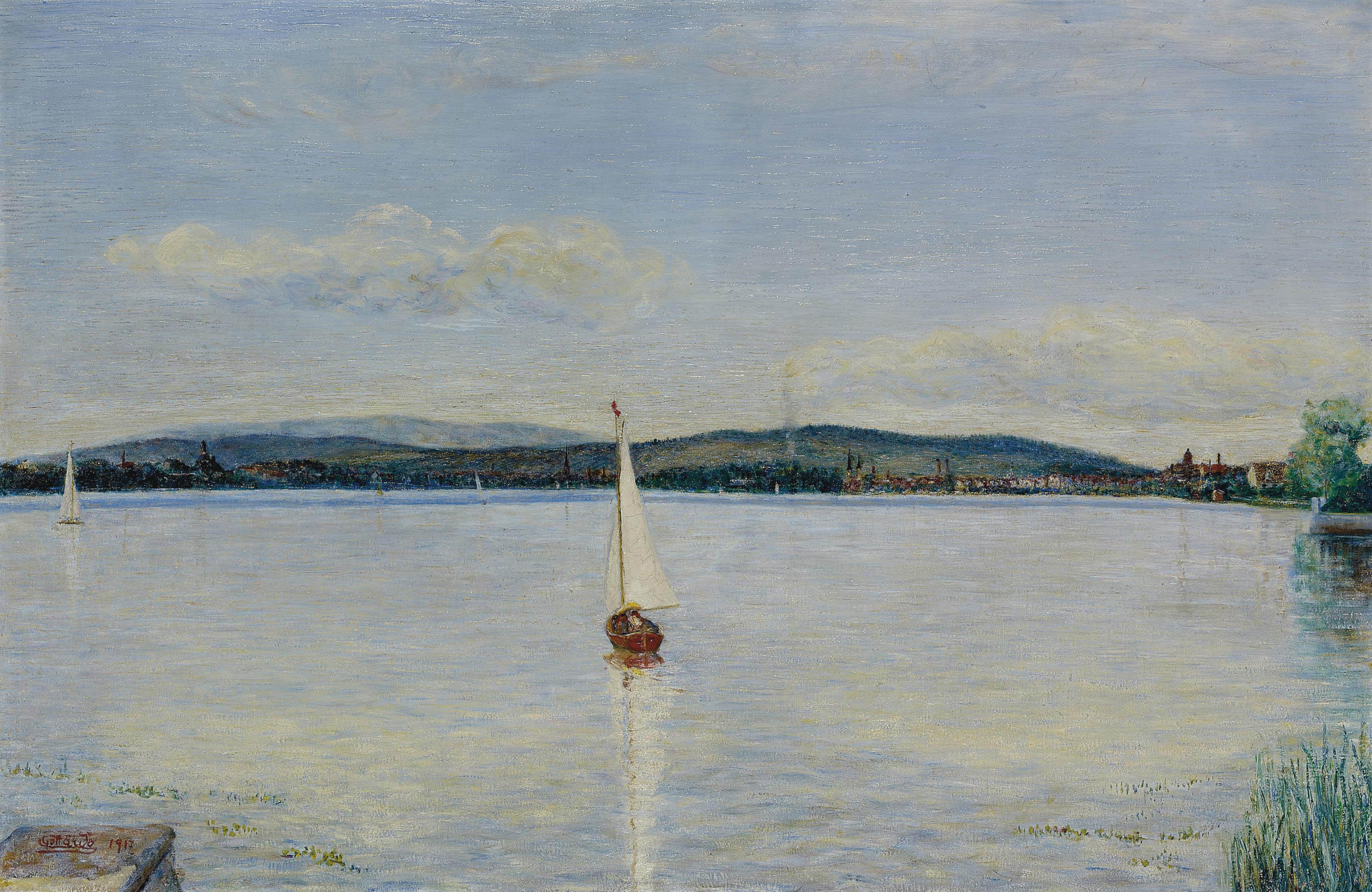 Zürichsee, 1917