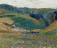 Hügel bei Oschwand, um 1900/1902