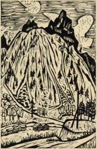 Grosse Berglandschaft, 1924-26