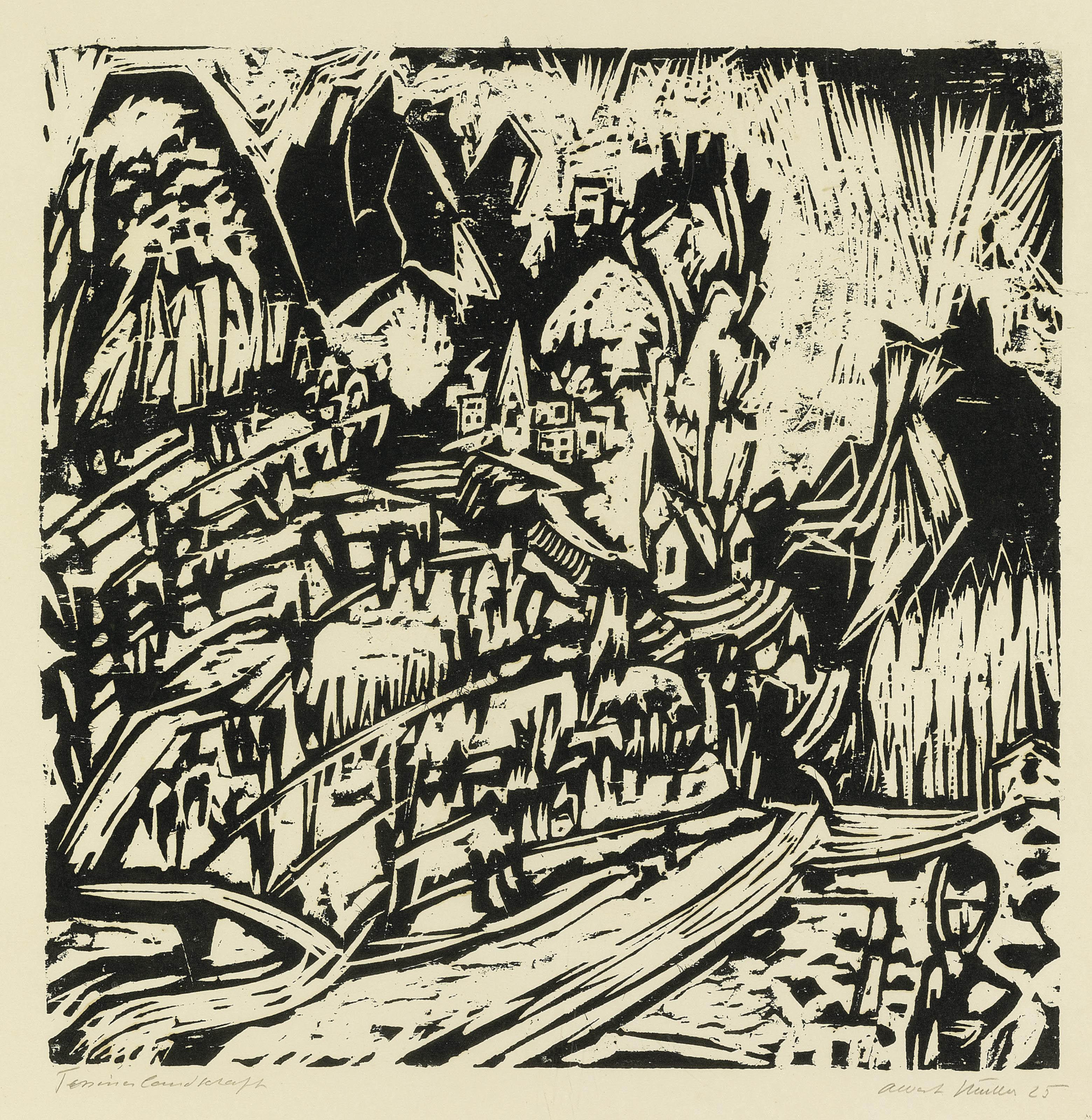 Tessinerlandschaft II, 1925