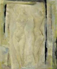 Nu devant mirroir, 1954
