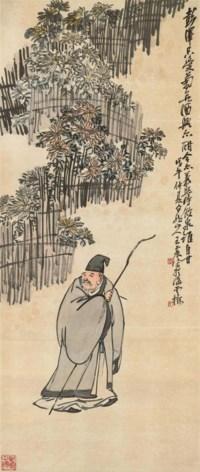 Poet in the Garden of Chrysanthemum