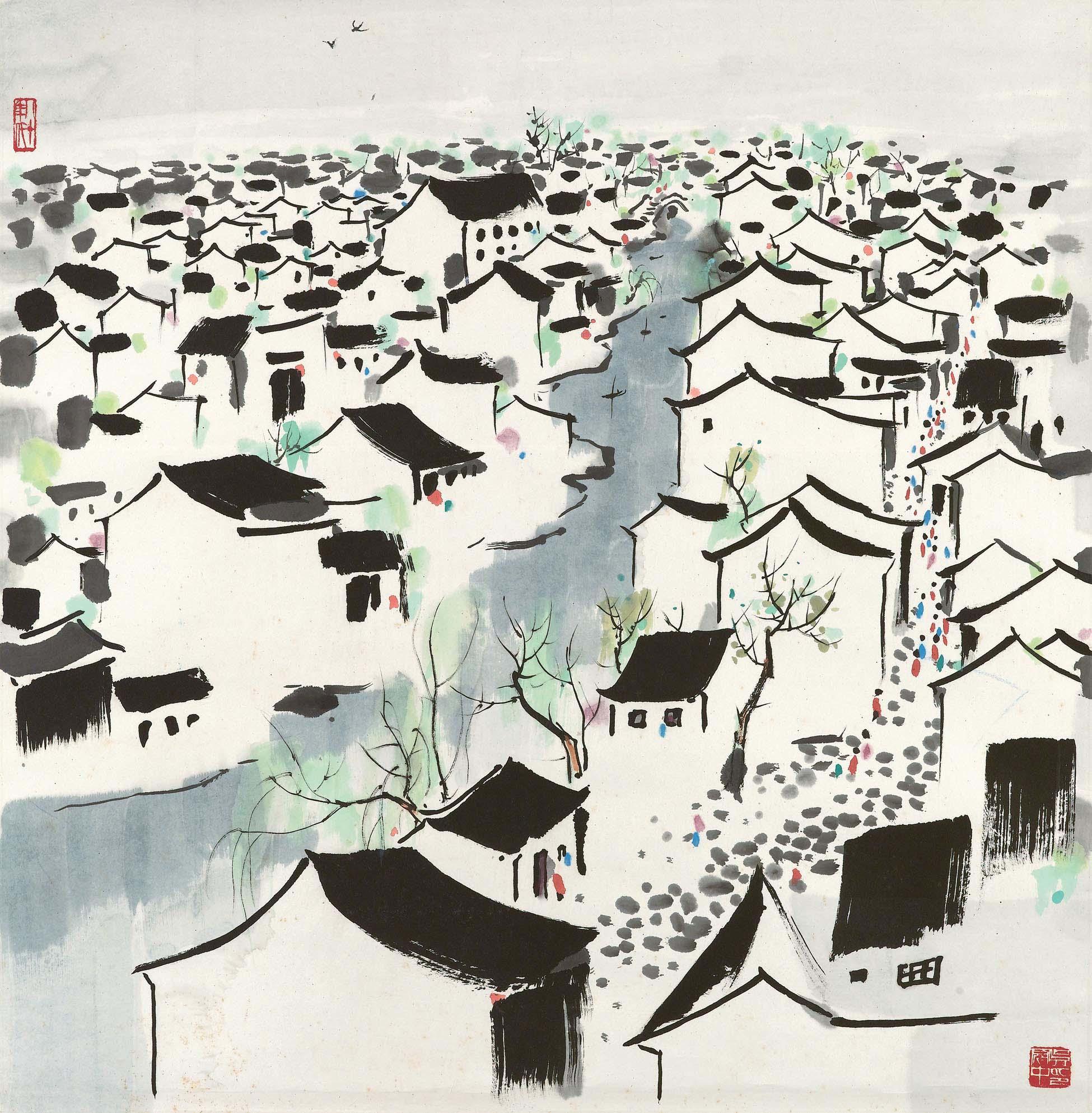 WU GUANZHONG (1919-2010)