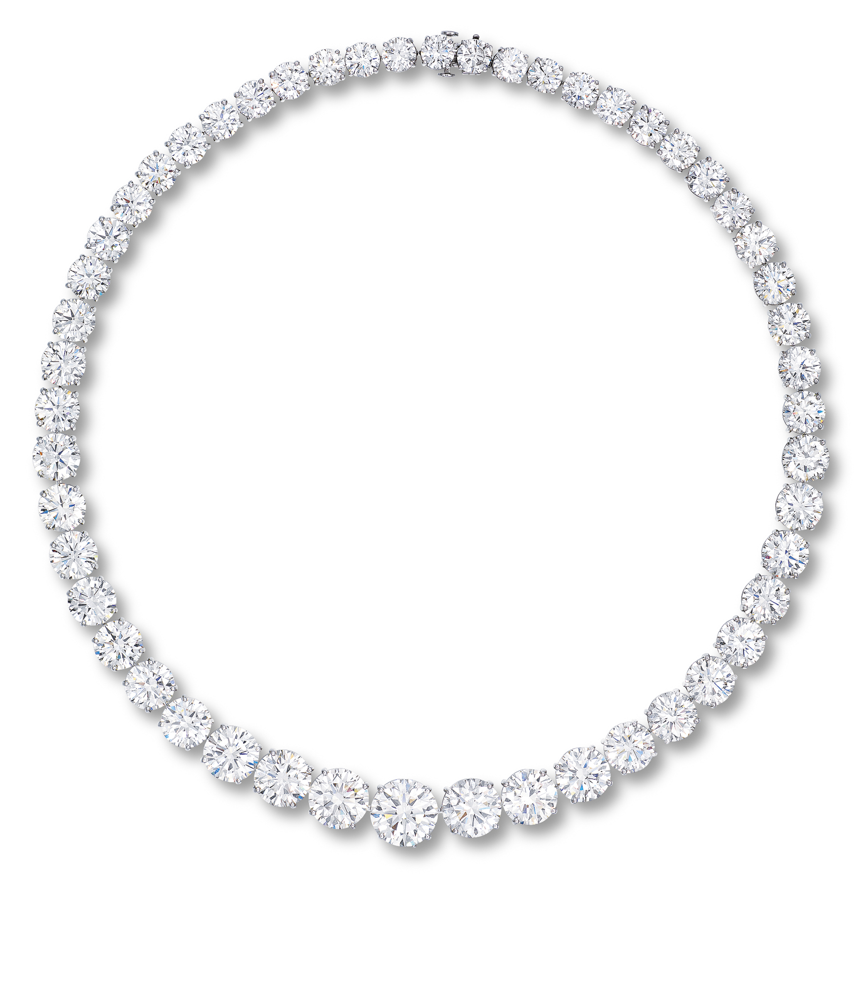 A DIAMOND NECKLACE, BY WILLIAM GOLDBERG