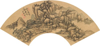 SIX MASTERS OF QING DYNASTY (1