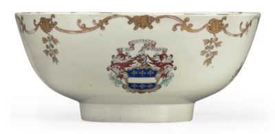 AN ARMORIAL PUNCHBOWL