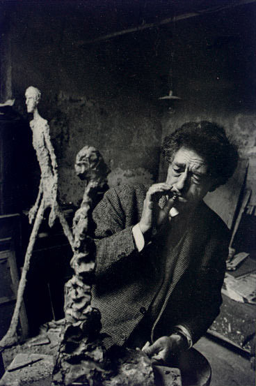 Alberto Giacometti, Paris, France, 1960