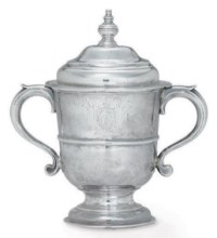 A GEORGE II SILVER CUP AND COVER