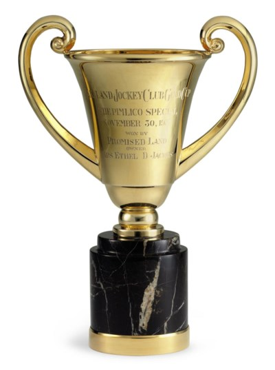 A GOLD TROPHY CUP: THE PIMLICO