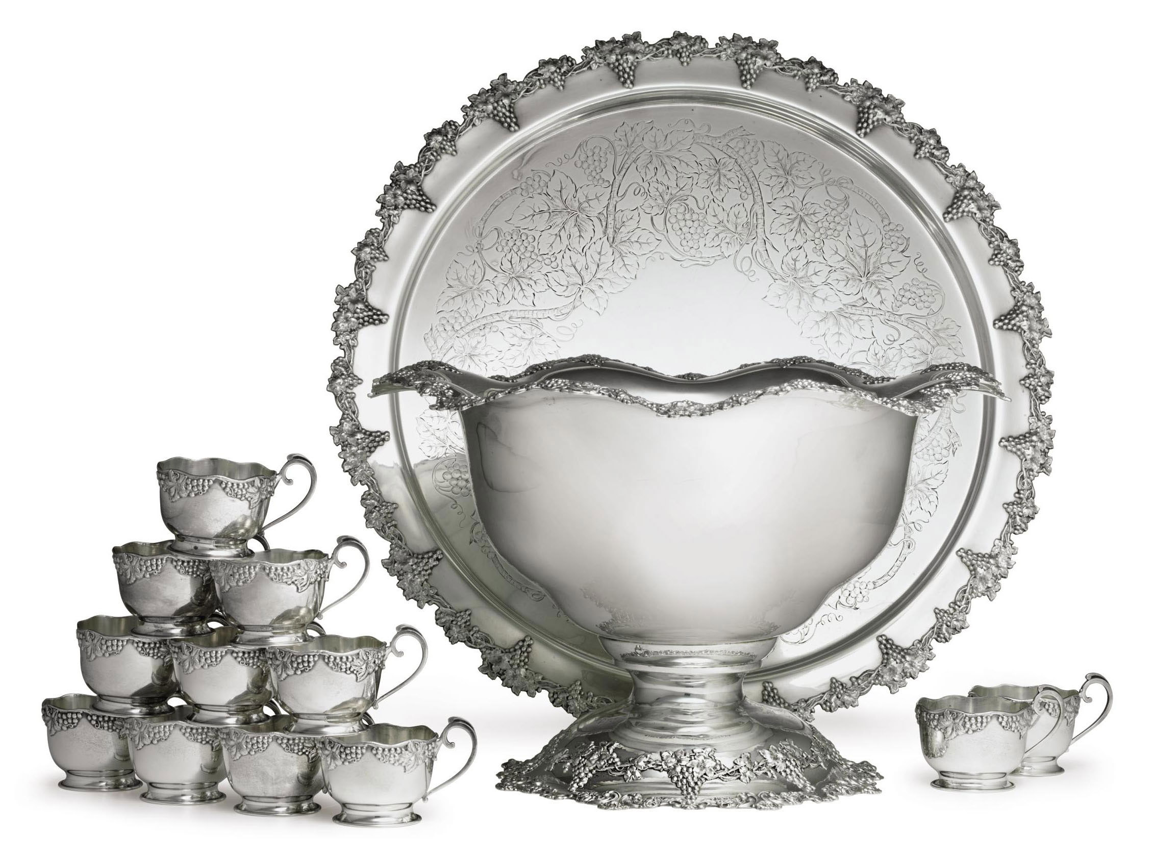 A SILVER PUNCH SERVICE