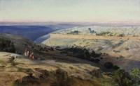 Jerusalem from the Mount of Olives, Sunrise