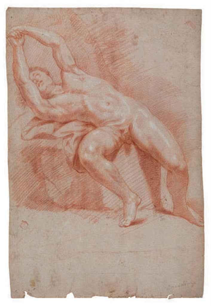 A male academy nude