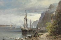 View of Palisades on the Hudson