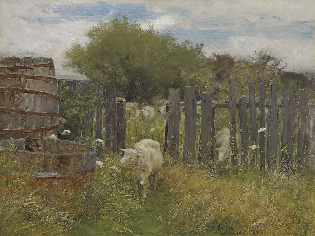 Back of Nichols' Barn, Sconset