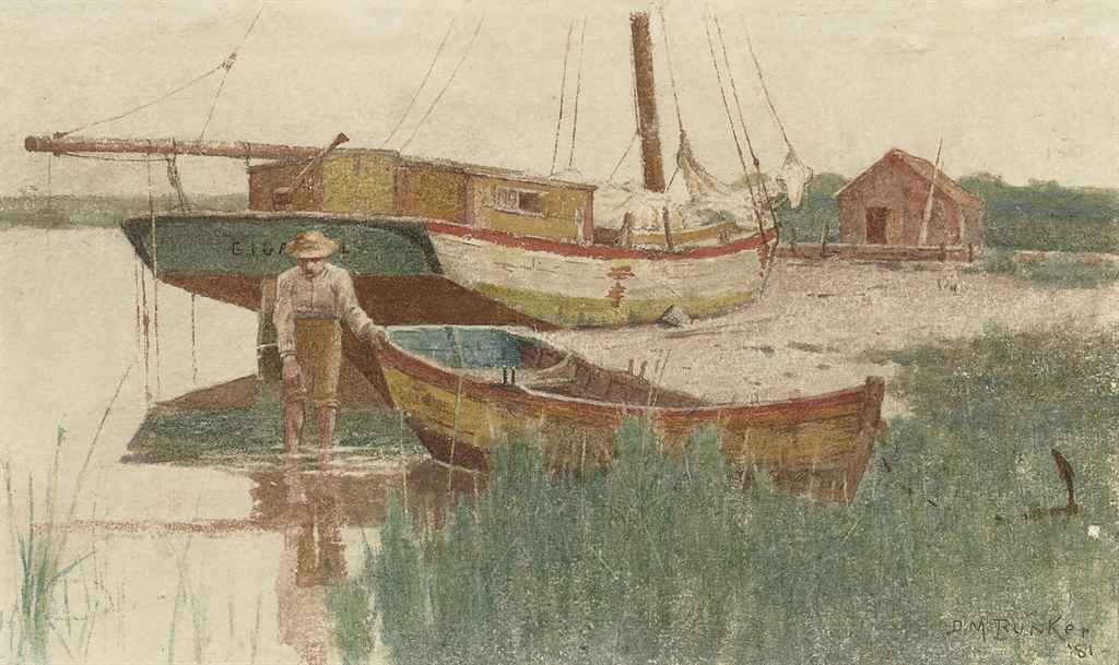 Boy with Rowboat