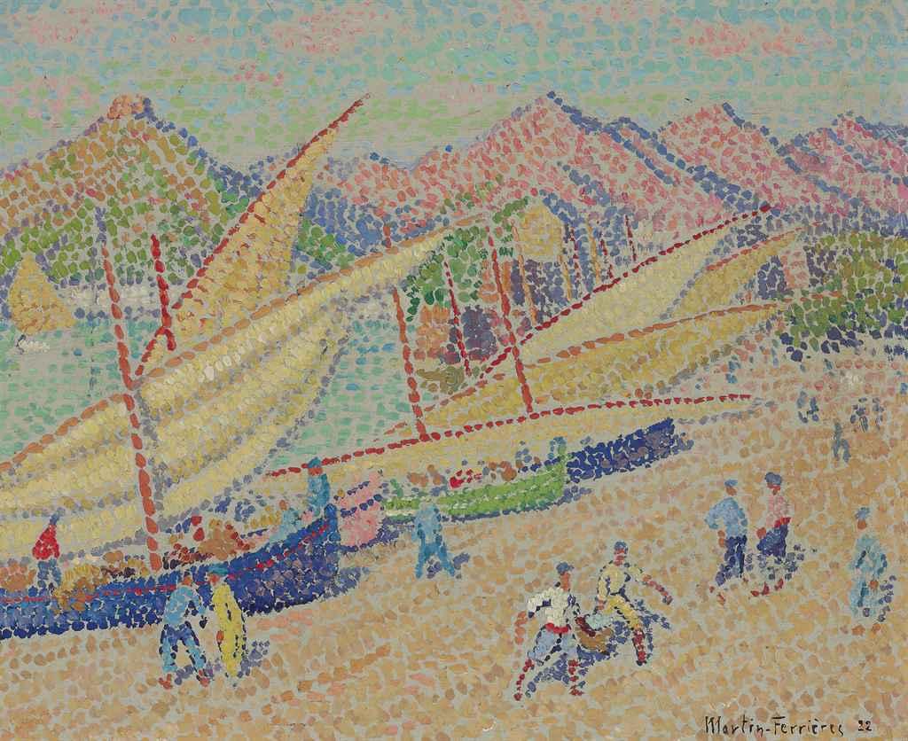 Collioure--Arivée de la pêche