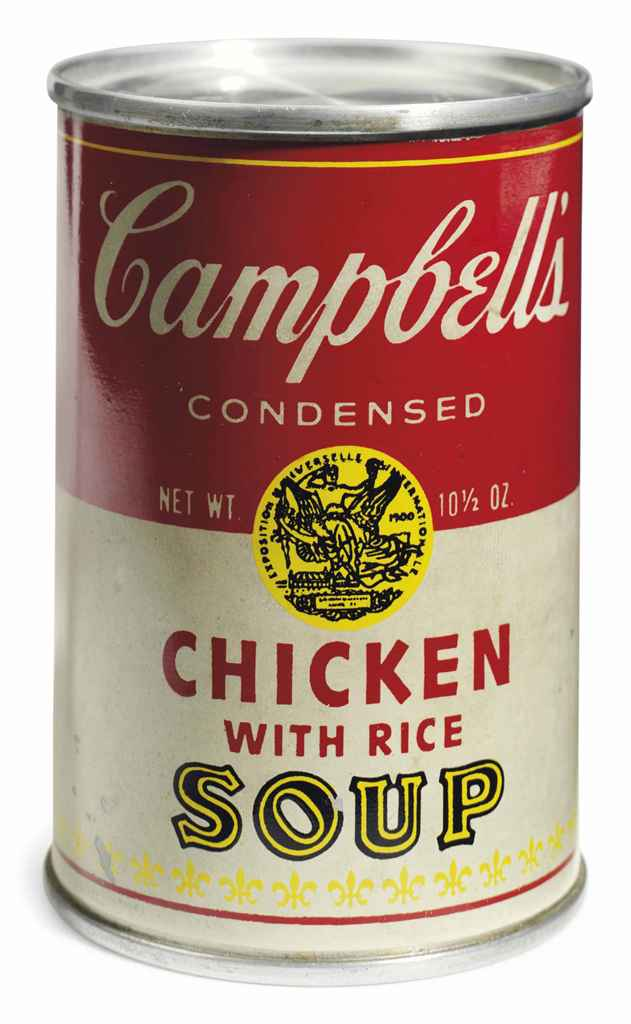 Andy Warhol (1928-1987) , Campbell's Soup Can (Chicken ...