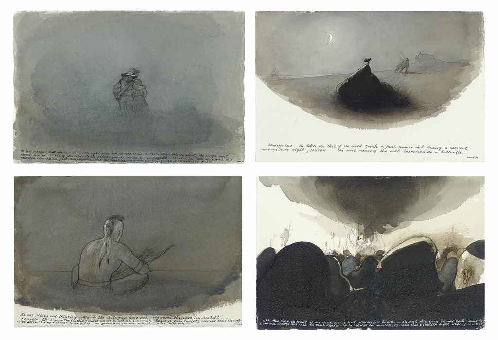 Untitled (four works, from Once Upon a Time)