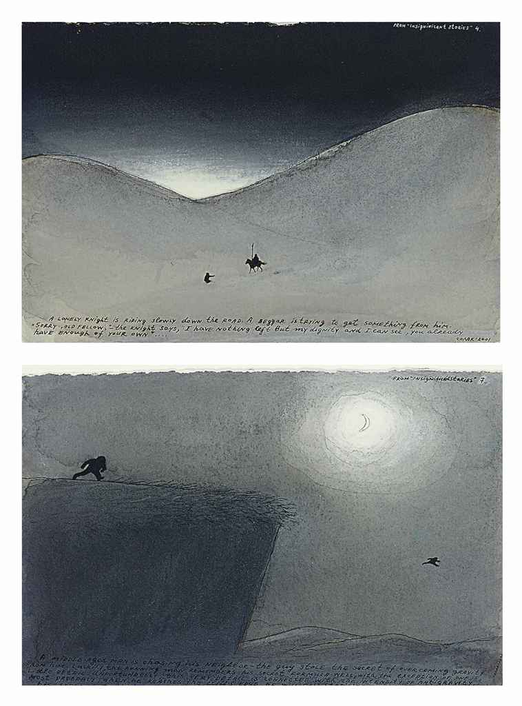 Untitled (4 and 7, from insignificant stories)