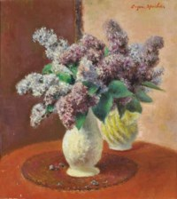 Still life of lilacs