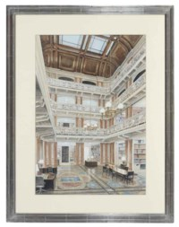 Old Executive Office Building, State Department Library, Washington D.C.