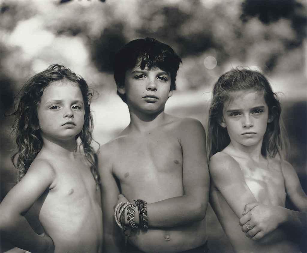 Emmett, Jessie and Virginia, 1989