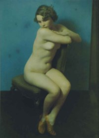 Seated Nude with Red Shoes, 1936