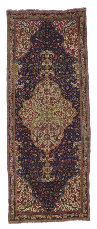 A BIDJAR GALLERY CARPET