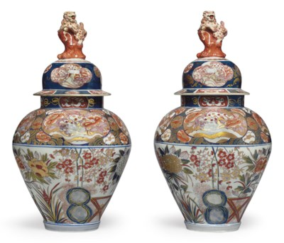 A PAIR OF SAMSON PORCELAIN JAP