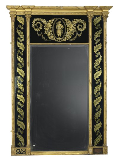 A REGENCY GILT-COMPOSITION AND
